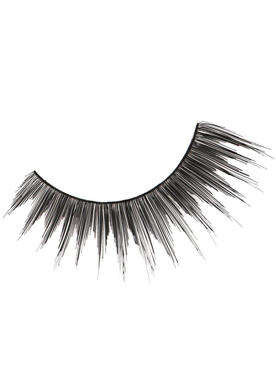Online Pair of Handmade Reusable Long Cross False Eyelashes
