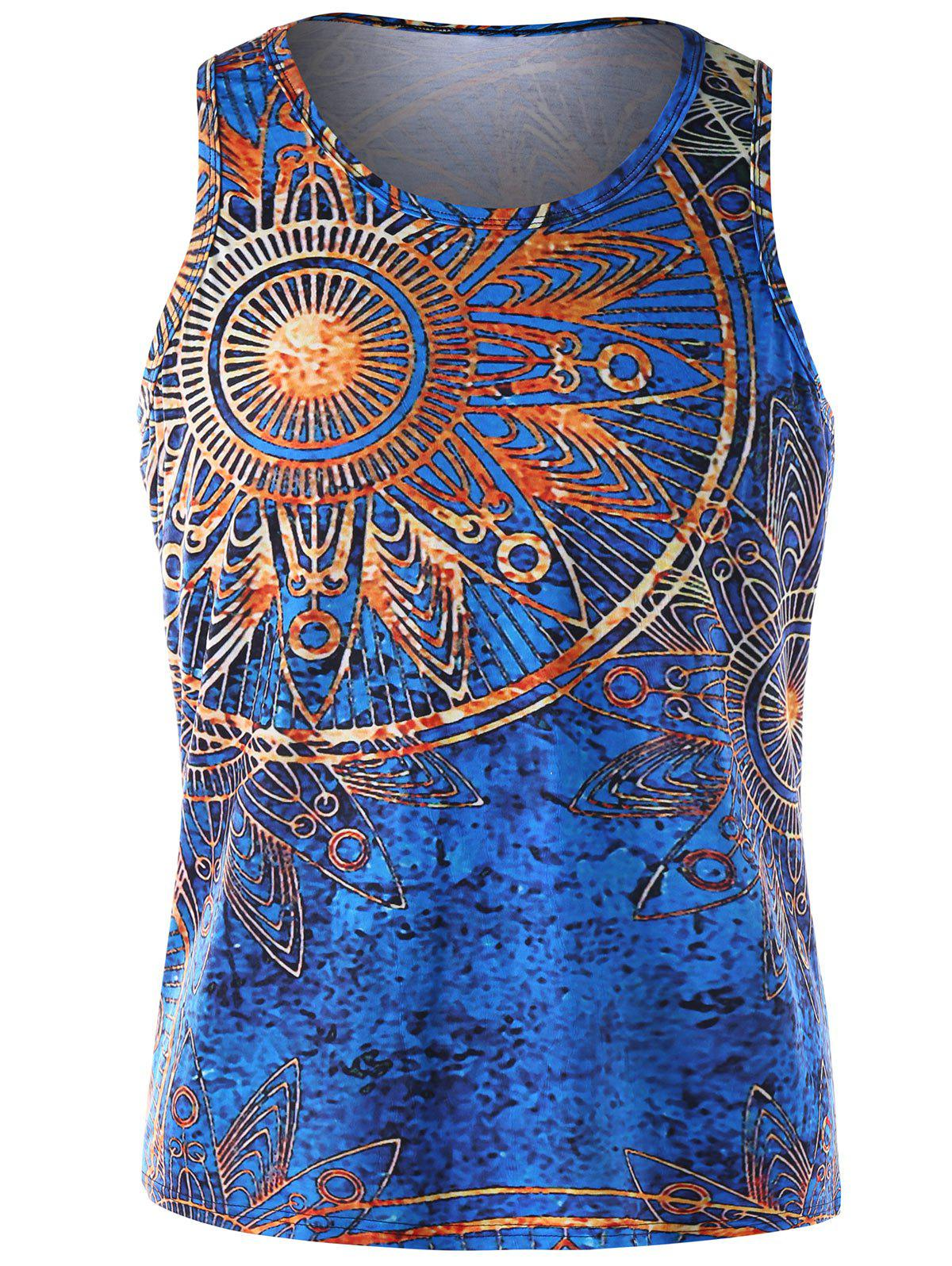 Best Mandala Print Tank Top
