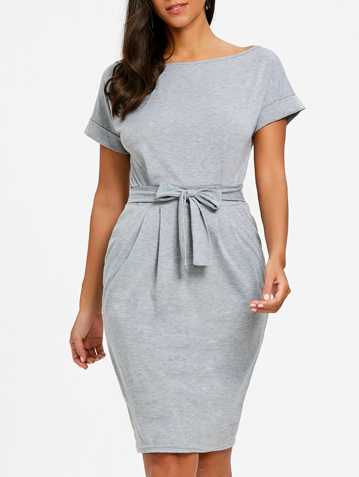 Best Casual Boat Neck Dress