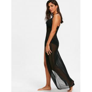 Halter Neckline Maxi Cover Up Dress -