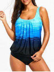 U Neck Tankini Set -