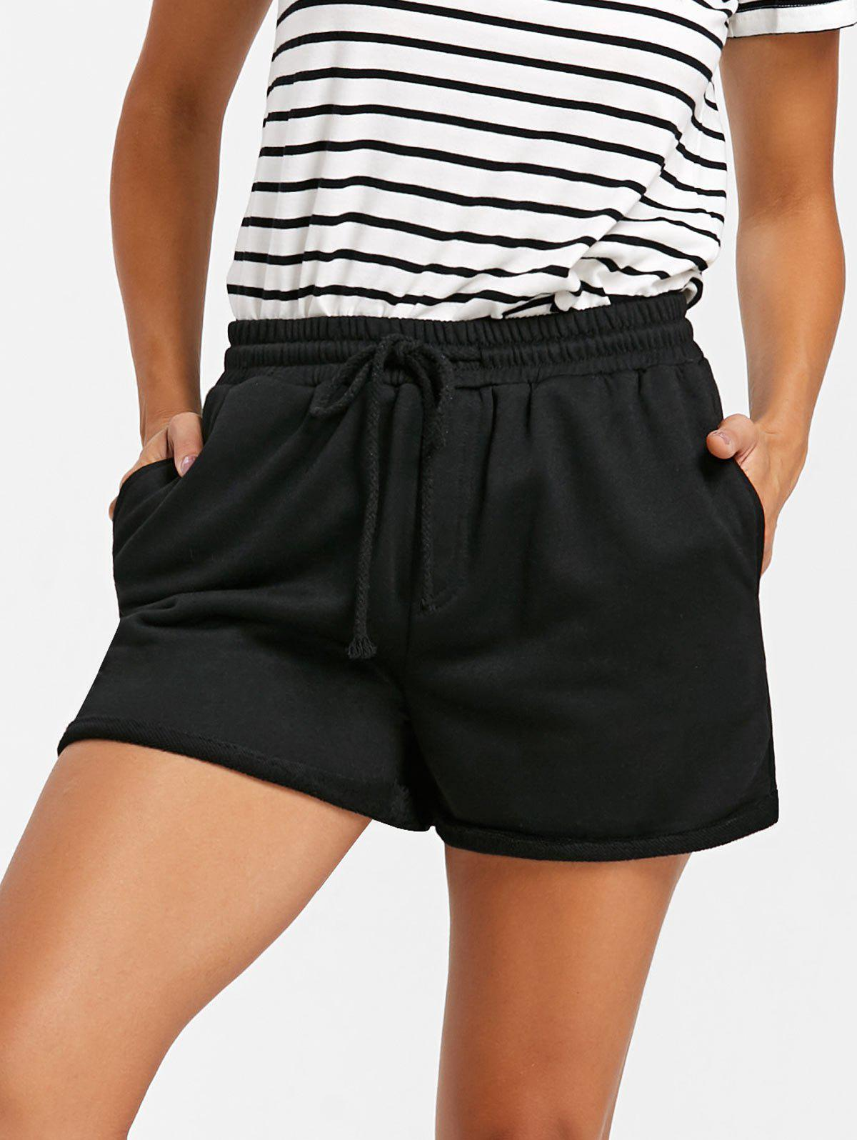 Shop Drawstring Cuffed Jogging Shorts