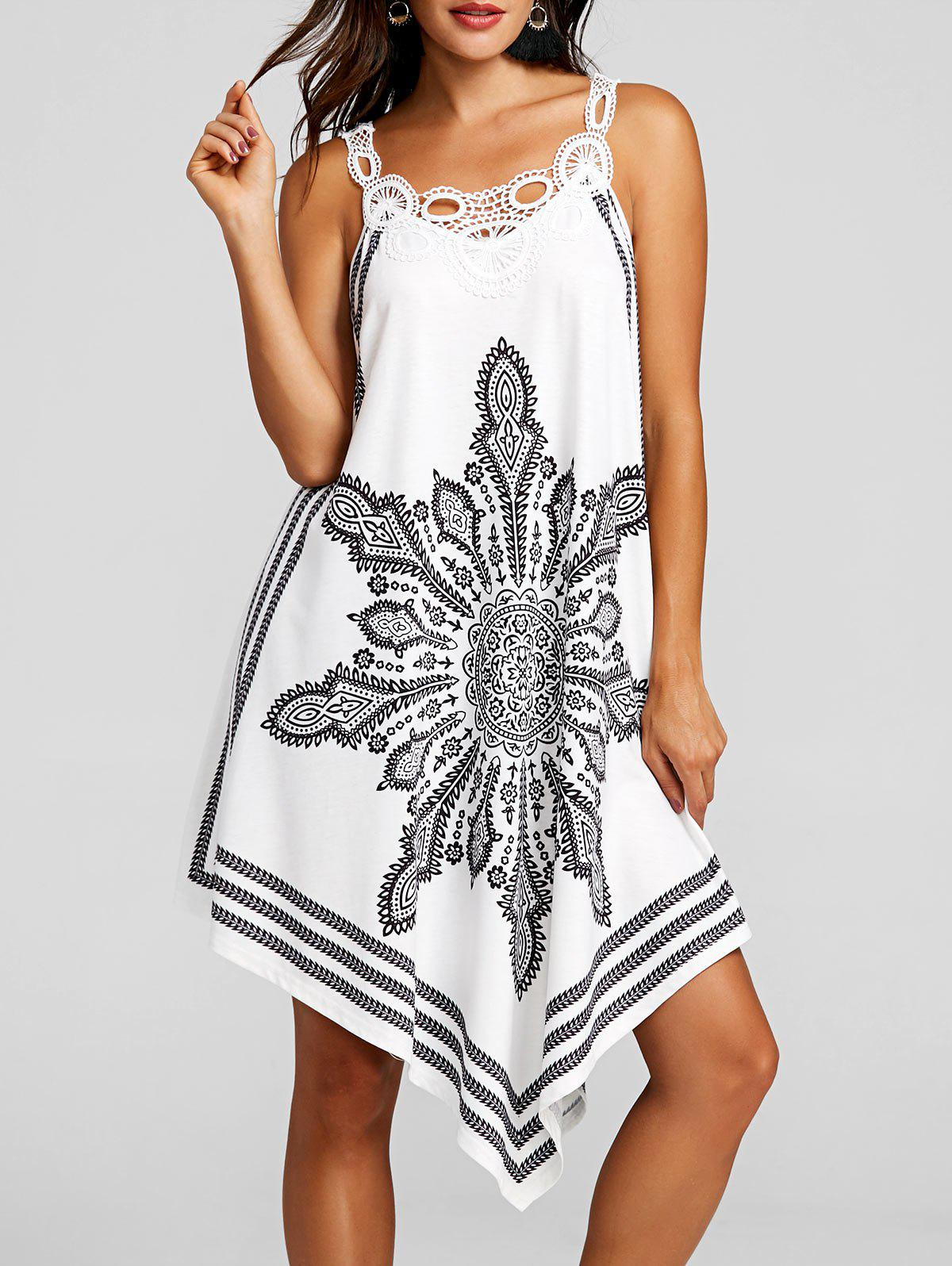 Store Tribal Print Sleeveless Dress