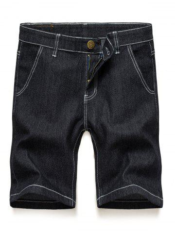 Discount Jean Denim Shorts with Pockets