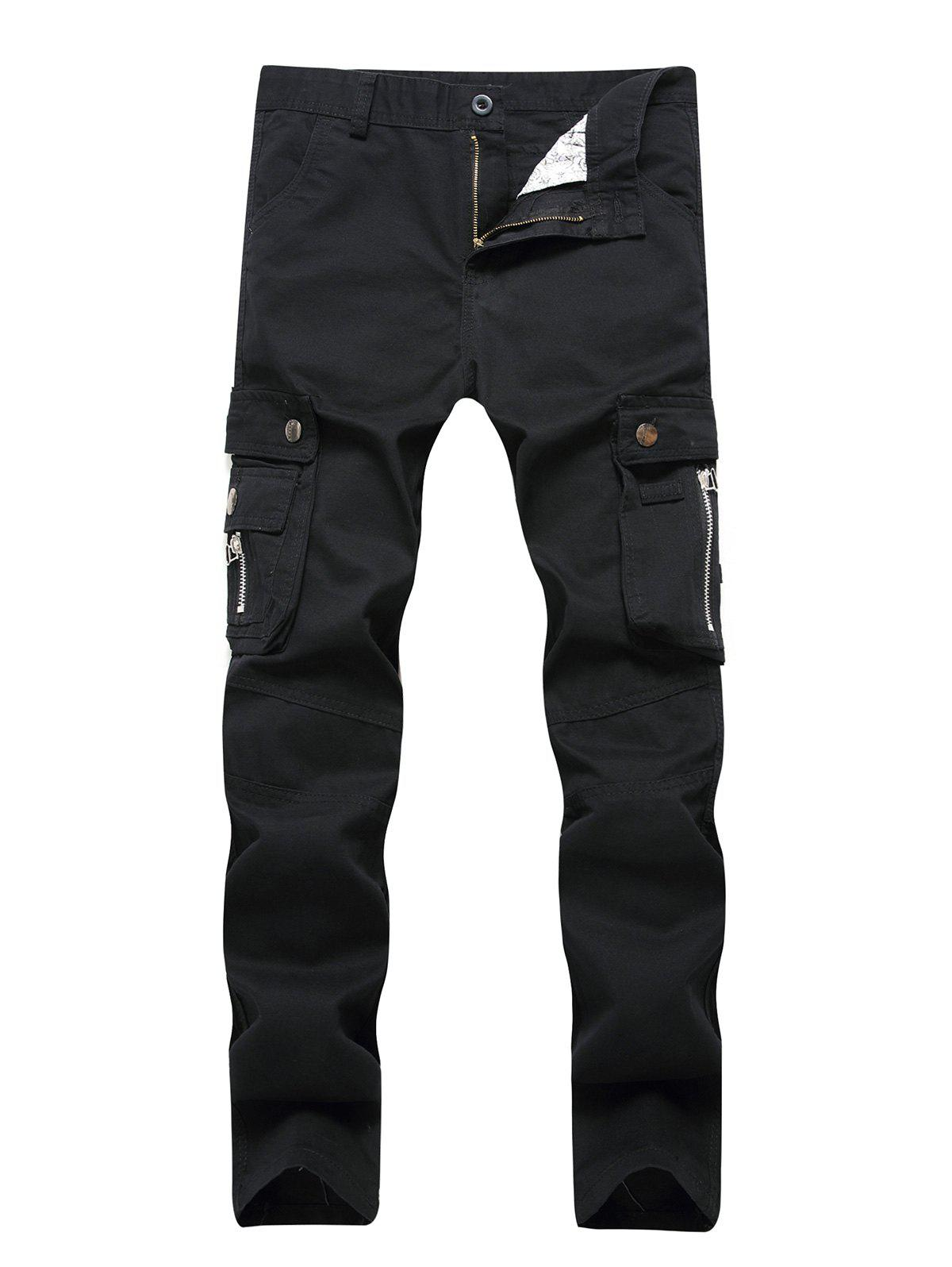 Shops Straight Leg Cargo Pants with Pockets