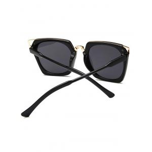 Hollow Out Metal Frame Sunglasses -
