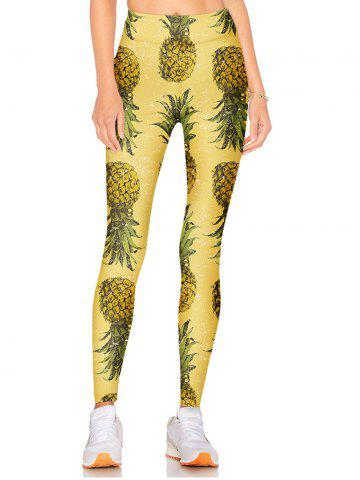 Outfit High Waisted Pineapple eggings