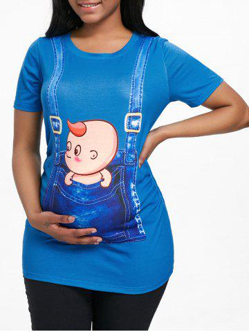 Shop 3D Baby Maternity Tunic T-shirt