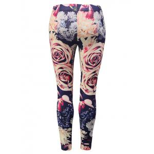 Floral Print Leggings -