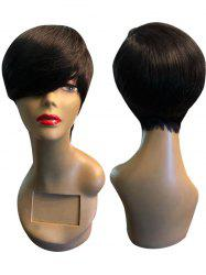 Short Side Bang Straight Heat Resistant Synthetic Wig -