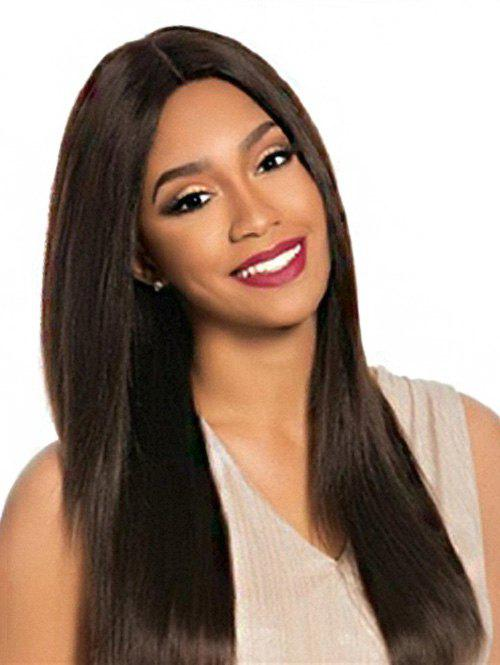 Latest Long Middle Part Straight Synthetic Wig