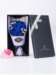 Rose Soap Flowers Bouquet Gift For Mother's Day -