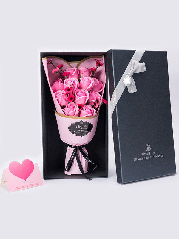 Trendy Rose Soap Flowers Bouquet Gift For Mother's Day