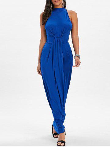 Shop Mock Neck Knot Maxi Dress