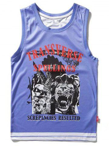 Best Animal Graphic Sport Tank Top