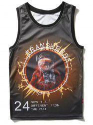 Astronaut Graphic Tank Top -