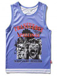 Animal Graphic Sport Tank Top -