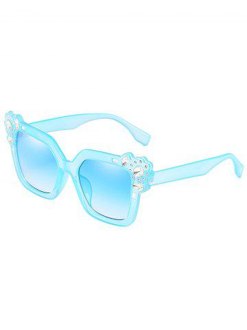 Shops Anti Fatigue Rhinestone Inlaid Oversized Sunglasses