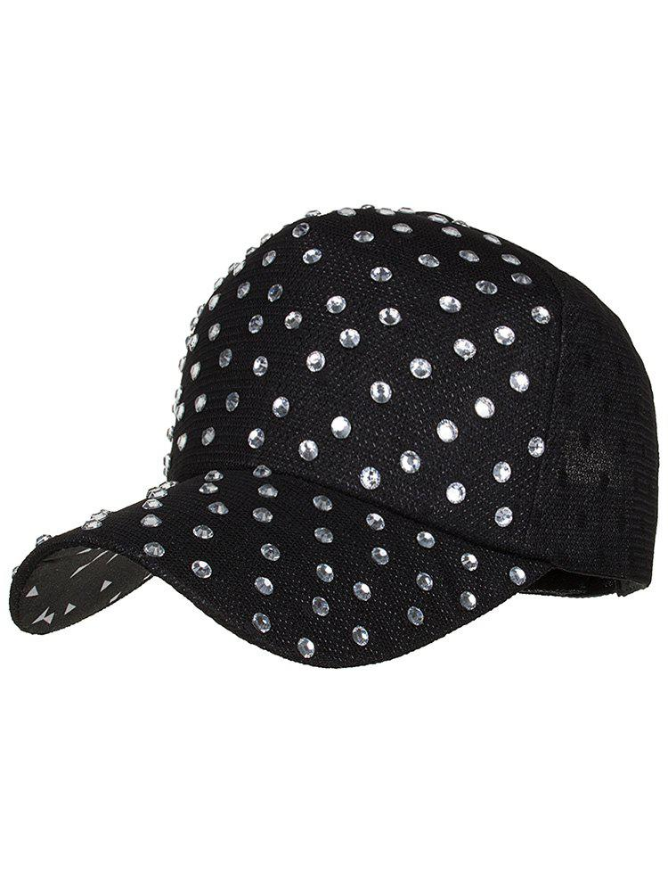 Latest Unique Rhinestone Pattern Breathable Sunscreen Hat