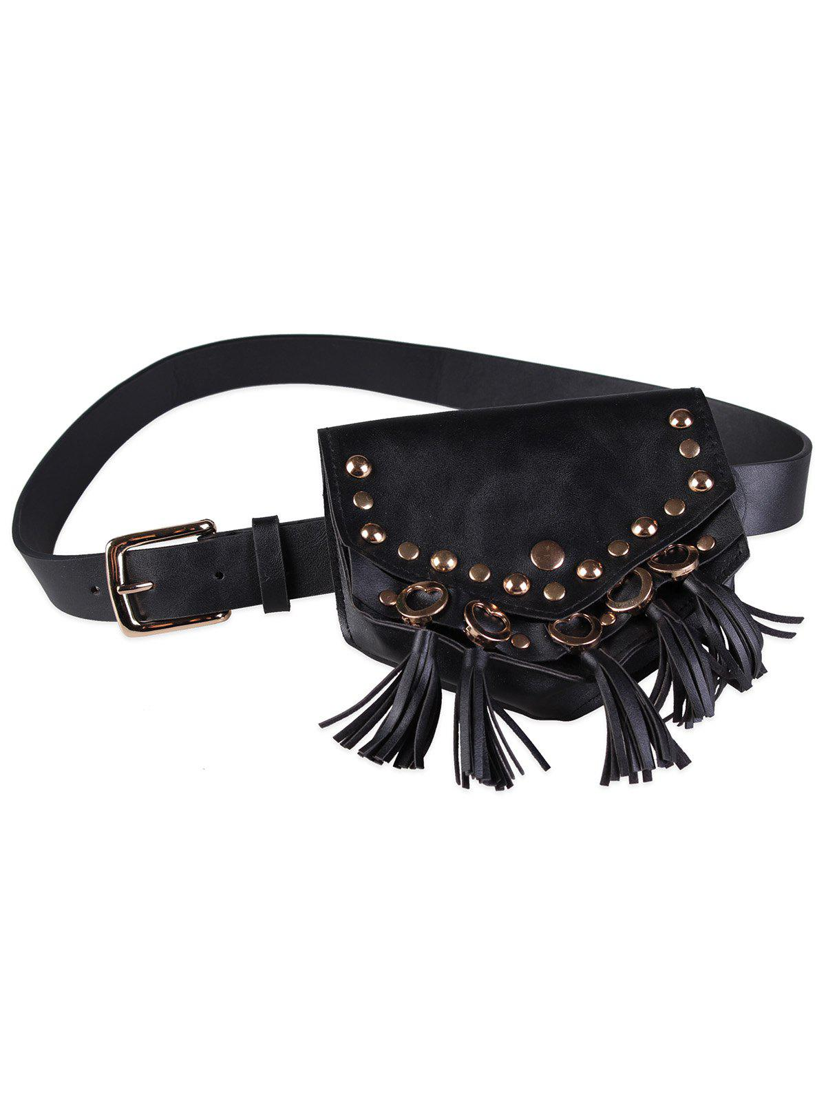 Hot Mini Fanny Pack Faux Leather Cell Phone Waist Belt