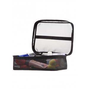 Mesh Breathable Makeup Tool Cosmetics Bag -