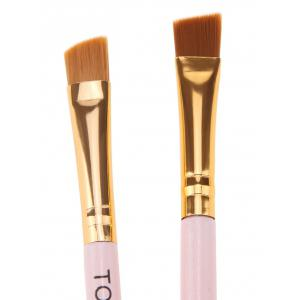 2Pcs Two Headed Eyelashes Eyebrow Makeup Brushes -
