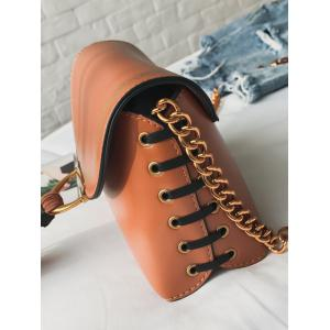 Tassel Hasp Closure Lace Up Дизайн Декор Сумка -