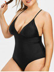 Plus Size Cami One Piece Swimsuit -