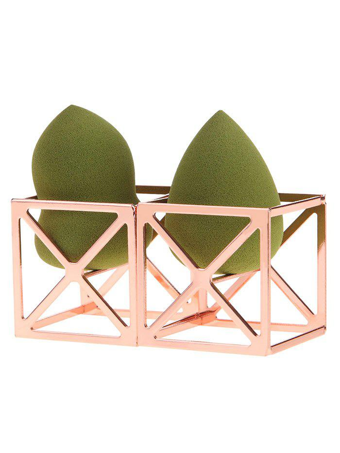 Trendy Magic Cube Shaped Makeup Sponge Holders