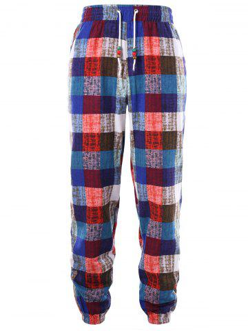 Discount Checkered Sweatpants
