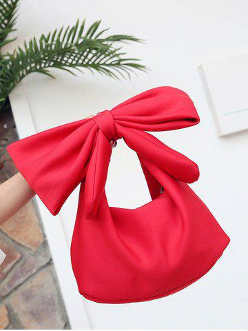 Best Lovely Bowknot Space Cotton Beach Hand Bag