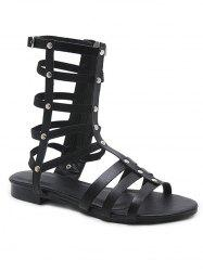Chic Multiple Strap Gladiator Sandals -