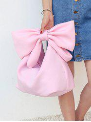 Lovely Bowknot Space Cotton Beach Hand Bag -