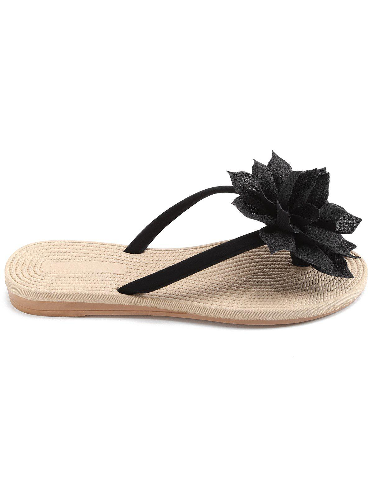 Unique Casual Flower Flip Flops for Beach