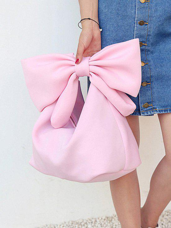 Store Lovely Bowknot Space Cotton Beach Hand Bag