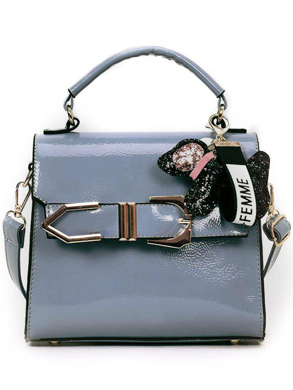 New Pendant Decoration Buckle Strap Covered Crossbody Bag