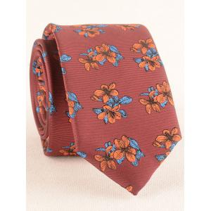 Blooming Flowers Business Shirt Tie and Handkerchief Set -
