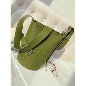 Casual Bucket 2 Pieces Crossbody Bag Set -