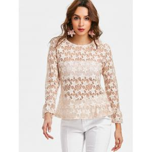 Star See Thru Blouse -