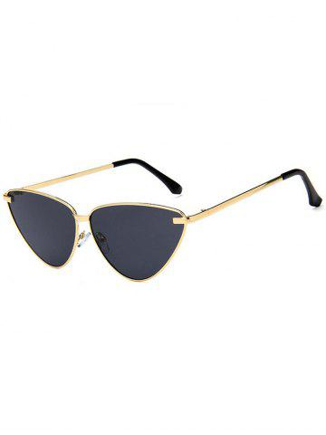 Outfit Anti Fatigue Metal Frame Flat Lens Sunglasses
