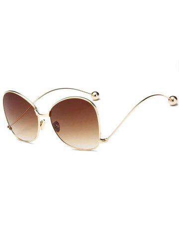 Fancy Unique Butterfly Bent Legs Sunglasses