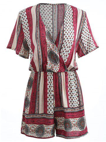 New Bohemian V-neck Romper