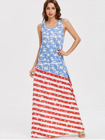 American Flag Print Dress Free Shipping Discount And Cheap Sale