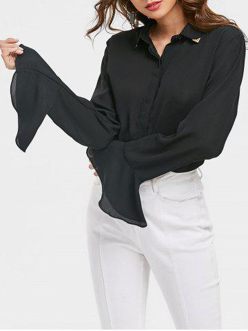 Affordable Bell Sleeve Shirt