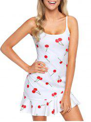 Summer Flounce Cami Dress -