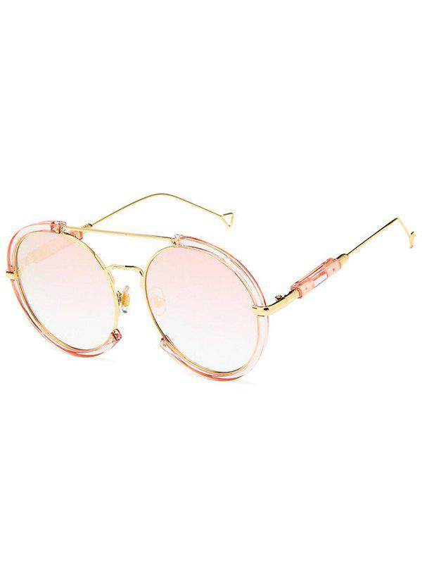 Store Metal Frame Street Snap Round Sunglasses