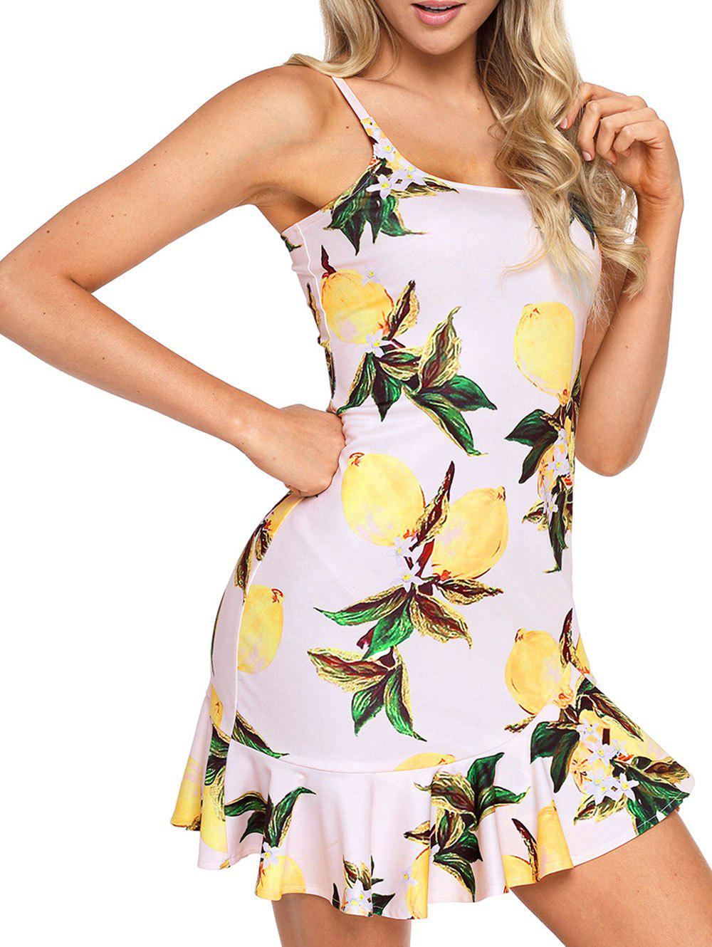 Affordable Summer Flounce Cami Dress