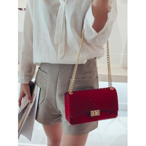 Chic Quilted Chain Crossbody Bag for Holiday -