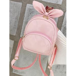 Lovely Bowknot Rabbit Ear Pattern Mini Backpack -