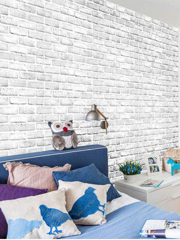 53% Bricks Wall Printed Self Adhere Wall Sticker Wall Decoration